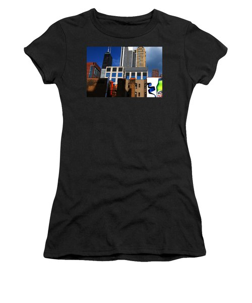 Skyline Building Blocks Women's T-Shirt