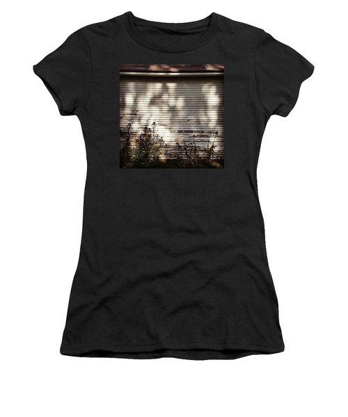 Slats And Shadows Women's T-Shirt (Athletic Fit)