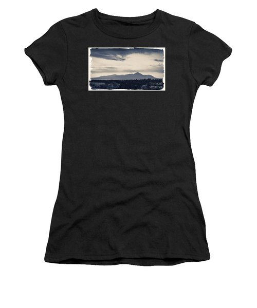 Sleeping Ute Mountain Women's T-Shirt (Athletic Fit)
