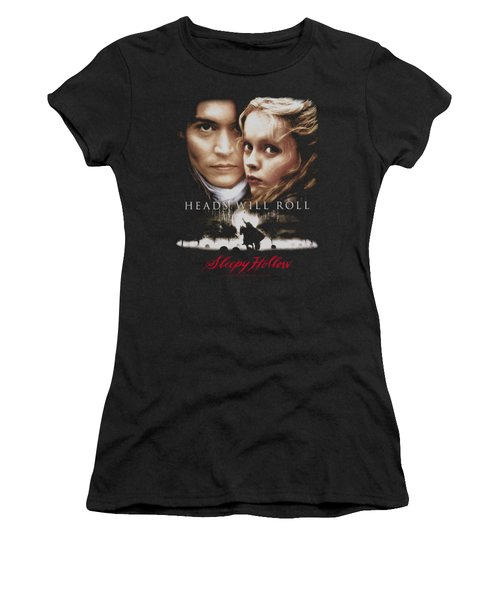 Sleepy Hollow - Heads Will Roll Women's T-Shirt (Junior Cut) by Brand A