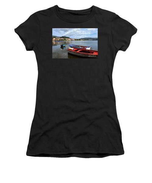 Small Boats In Galicia Women's T-Shirt