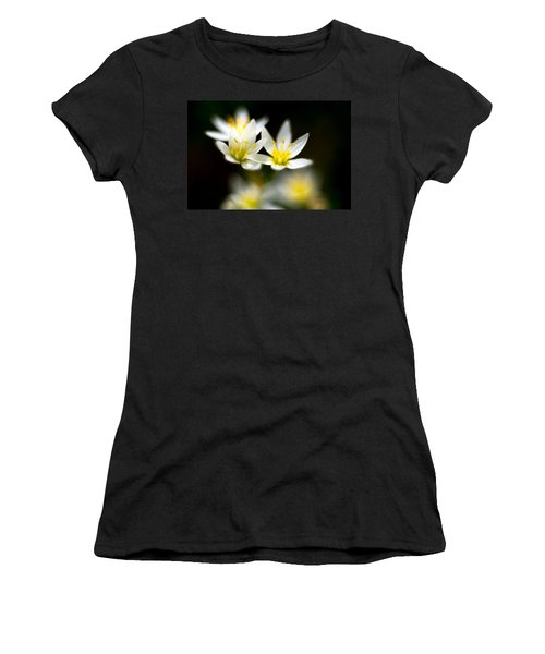 Small White Flowers Women's T-Shirt