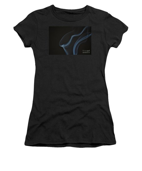 Women's T-Shirt (Junior Cut) featuring the photograph Smoke 1 by Patrick Shupert
