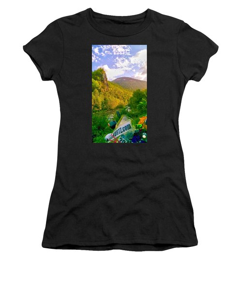 Smoke Hole Canyon Women's T-Shirt (Athletic Fit)