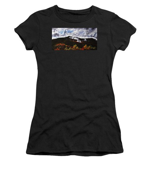 Smoky Mountain Angel Hair Women's T-Shirt (Athletic Fit)