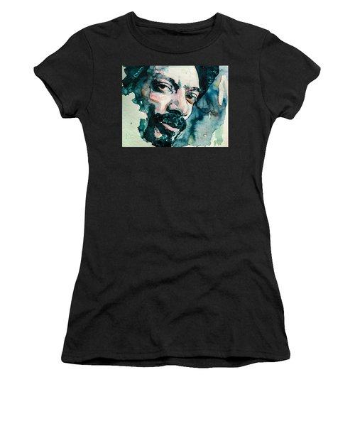 Snoop's Upside Ya Head Women's T-Shirt (Athletic Fit)