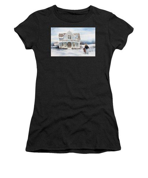 Snow Day Women's T-Shirt