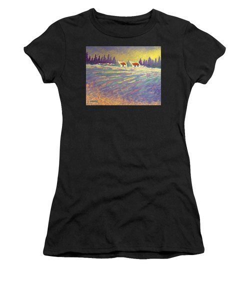 Snow Scape County Wicklow Women's T-Shirt