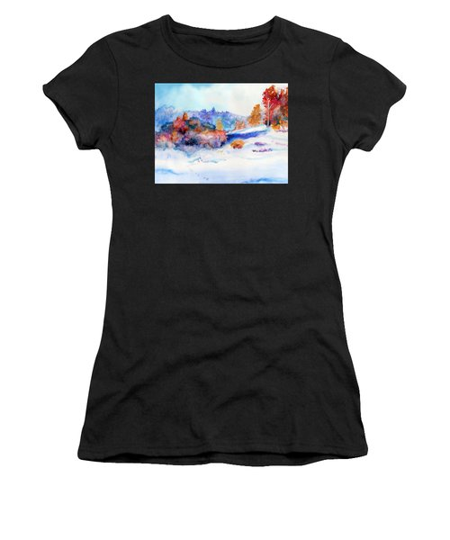 Snowshoe Day Women's T-Shirt (Athletic Fit)