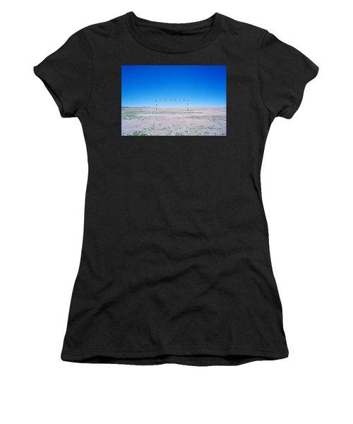 Field Of Dreams Women's T-Shirt (Junior Cut) by Shaun Higson