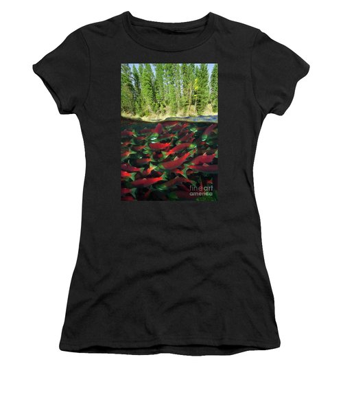 Sockeye Salmon Run Women's T-Shirt