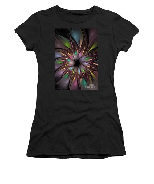 Soft Colors Of The Rainbow Women's T-Shirt (Athletic Fit)