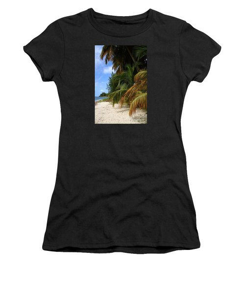 Women's T-Shirt (Junior Cut) featuring the photograph Nude Beach by The Art of Alice Terrill