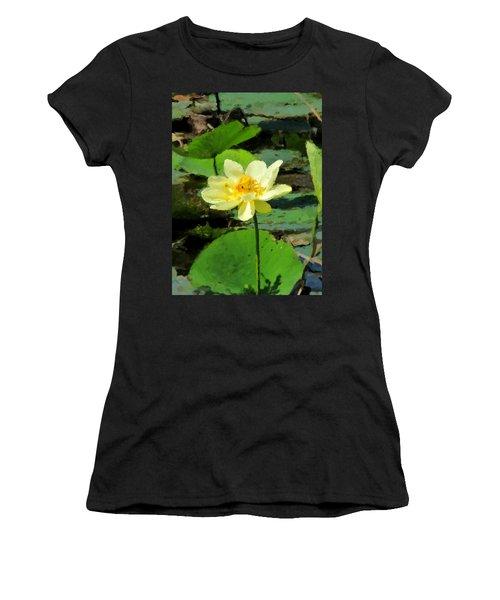 Solitude Women's T-Shirt (Junior Cut) by John Freidenberg