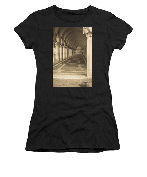 Solitude Under Palace Arches Women's T-Shirt