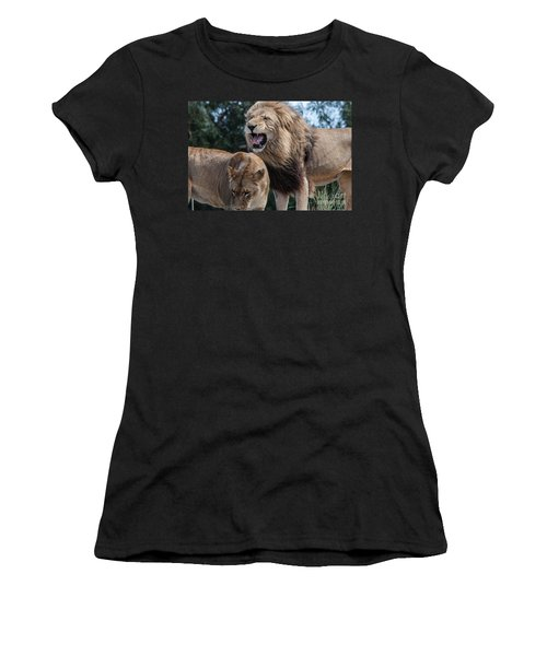 Sorry Your Majesty Women's T-Shirt (Athletic Fit)