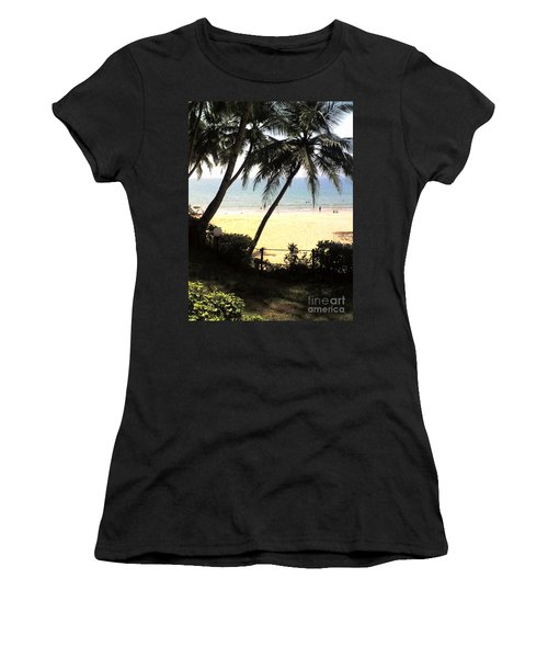 South Beach - Miami Women's T-Shirt (Athletic Fit)