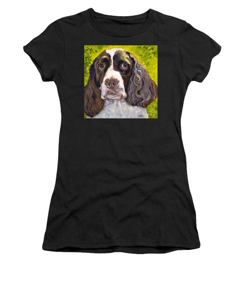 Spaniel The Eyes Have It Women's T-Shirt