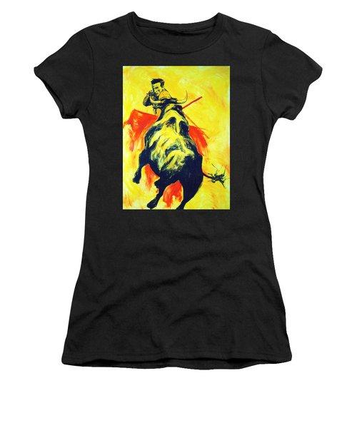 Spanish Bullfight Women's T-Shirt