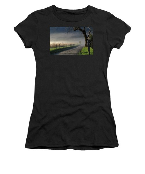 Sparks Lane Sunrise IIi Women's T-Shirt (Athletic Fit)