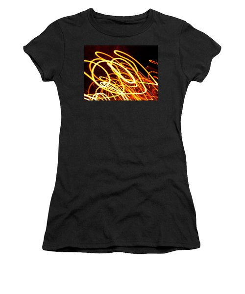 Spiral Light Among Dwellers About The City 2 Women's T-Shirt (Athletic Fit)