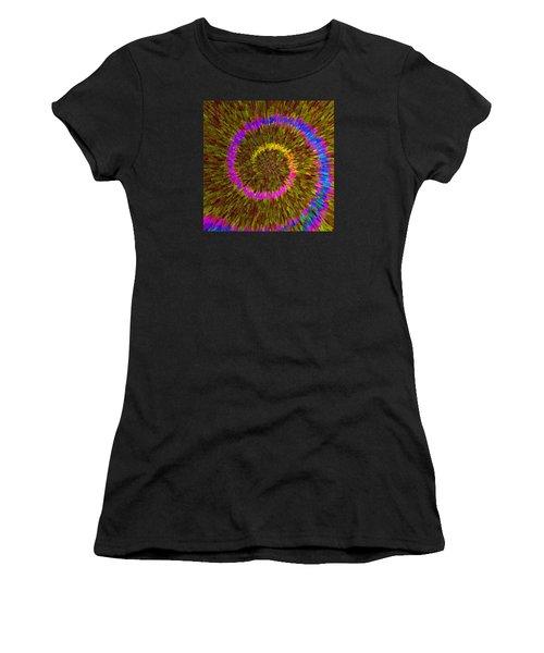 Spiral Rainbow IIi C2014 Women's T-Shirt (Athletic Fit)