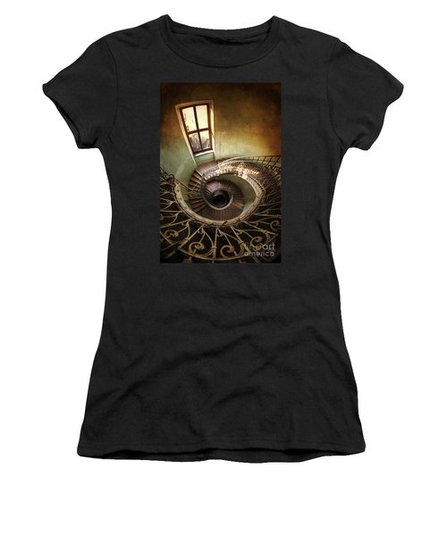 Spiral Staircaise With A Window Women's T-Shirt