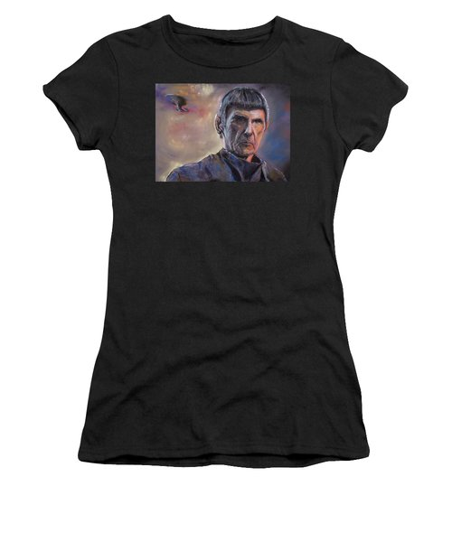 Spock Women's T-Shirt (Athletic Fit)