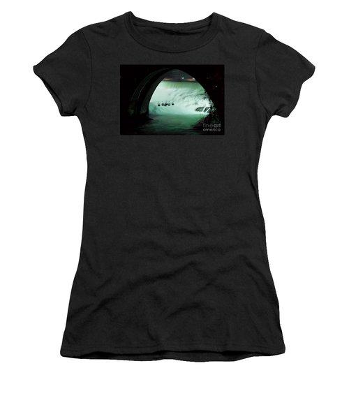Spokane Falls Women's T-Shirt (Athletic Fit)