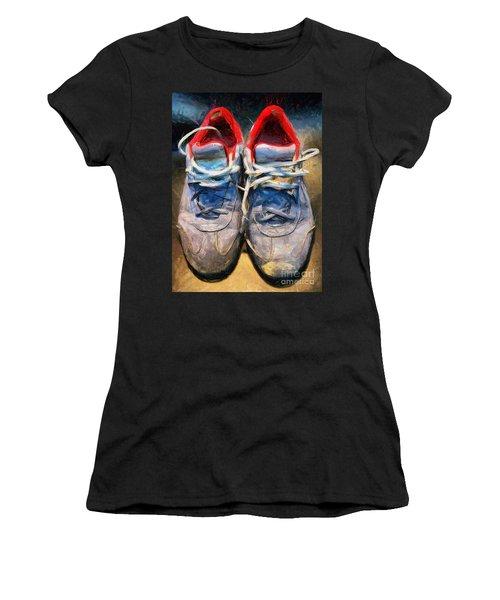 Sport Shoes Drawing Women's T-Shirt