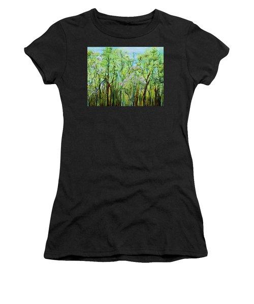 Spring Arpeggio Women's T-Shirt (Athletic Fit)