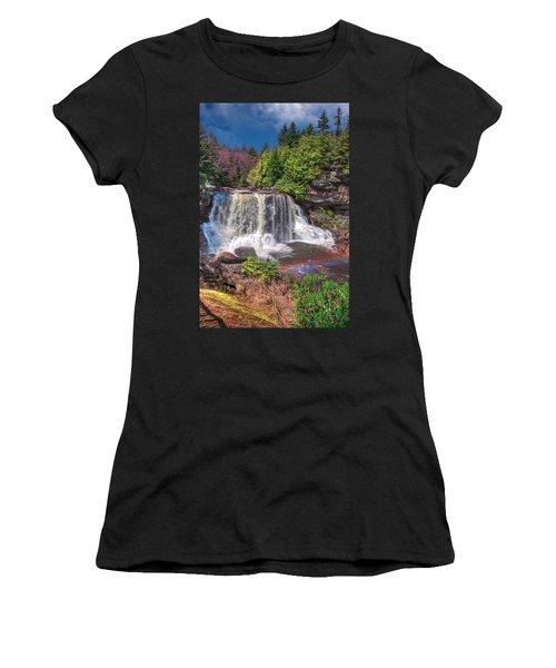 Spring At Blackwater Falls Women's T-Shirt