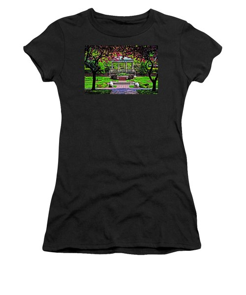 Spring At Lynch Park Women's T-Shirt (Junior Cut) by Mike Martin