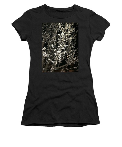 Spring Blossoms Glowing Women's T-Shirt (Athletic Fit)