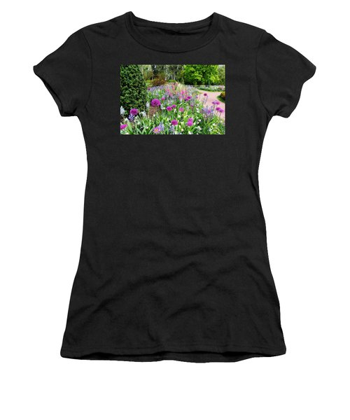 Spring Gardens Women's T-Shirt (Athletic Fit)