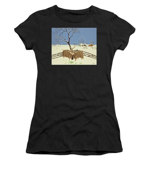 Spring In Winter Women's T-Shirt