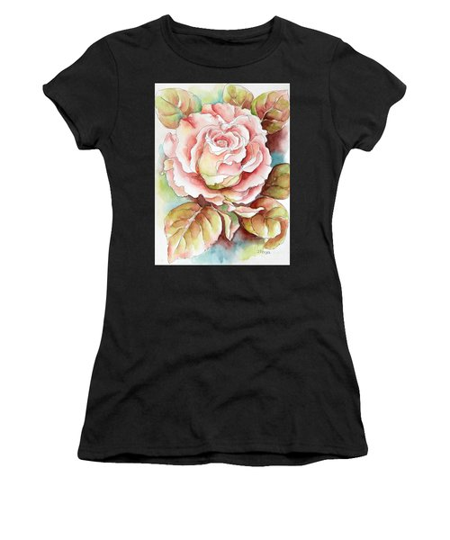 Spring Rose Women's T-Shirt (Athletic Fit)
