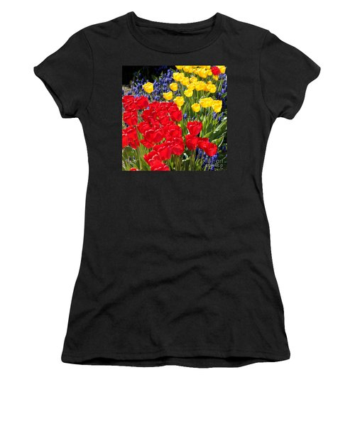 Spring Sunshine Women's T-Shirt (Athletic Fit)