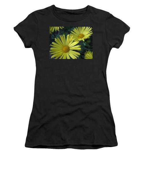 Spring Yellow  Women's T-Shirt (Athletic Fit)