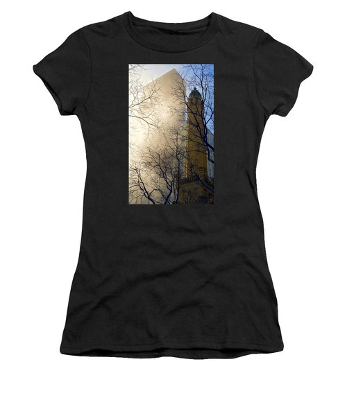 Women's T-Shirt (Athletic Fit) featuring the photograph Springtime In Chicago by Steven Sparks