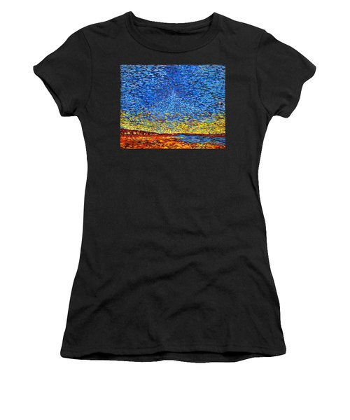St. Andrews Sunset Women's T-Shirt (Athletic Fit)