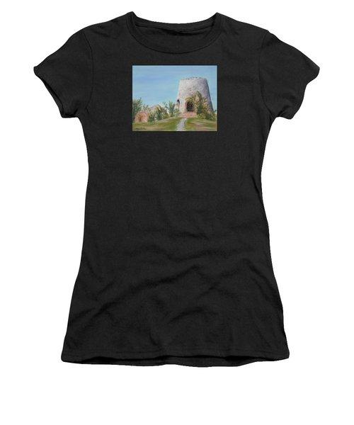 St. Croix Sugar Mill Women's T-Shirt (Athletic Fit)