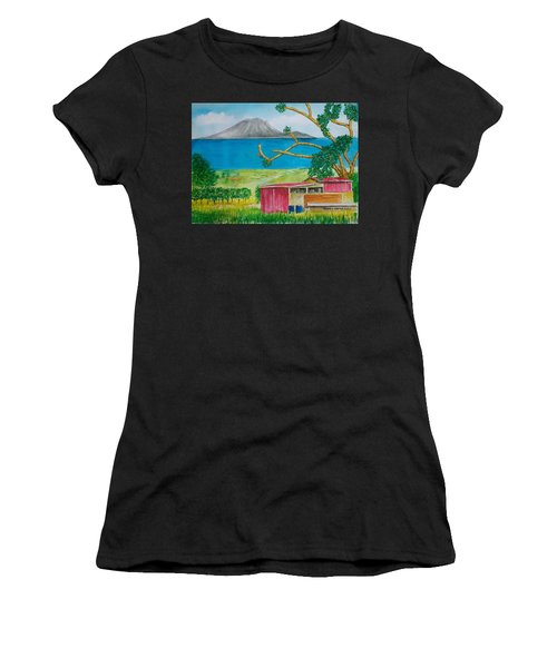 St. Eustatis From St. Kitts Women's T-Shirt