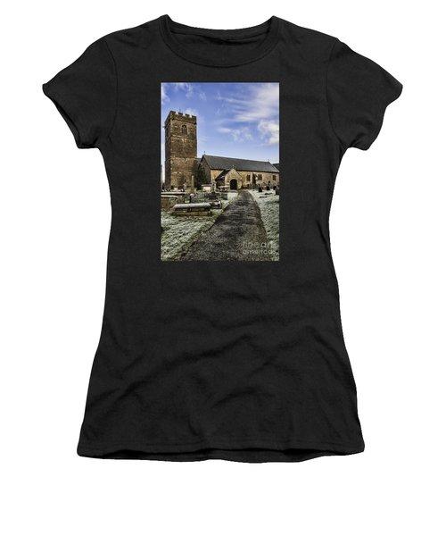 St Gwendolines Church Talgarth 4 Women's T-Shirt (Athletic Fit)