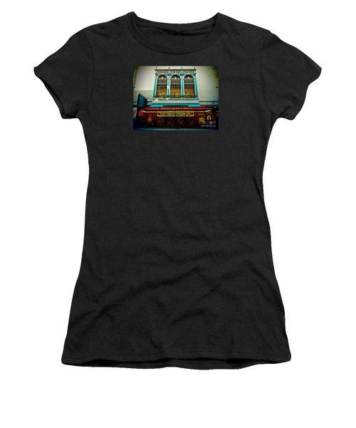 St. James Theatre Balcony Women's T-Shirt (Athletic Fit)