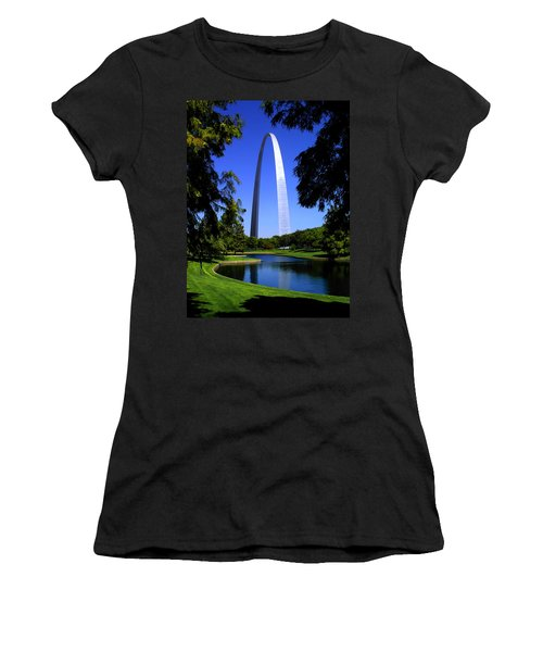 St Louis Gateway Arch Women's T-Shirt