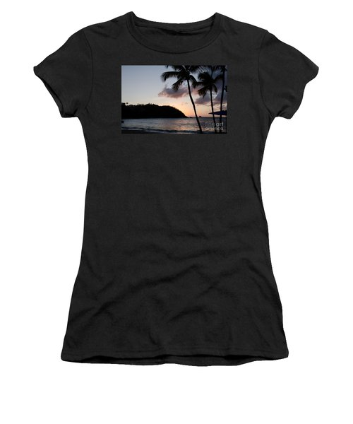 St. Lucian Sunset Women's T-Shirt