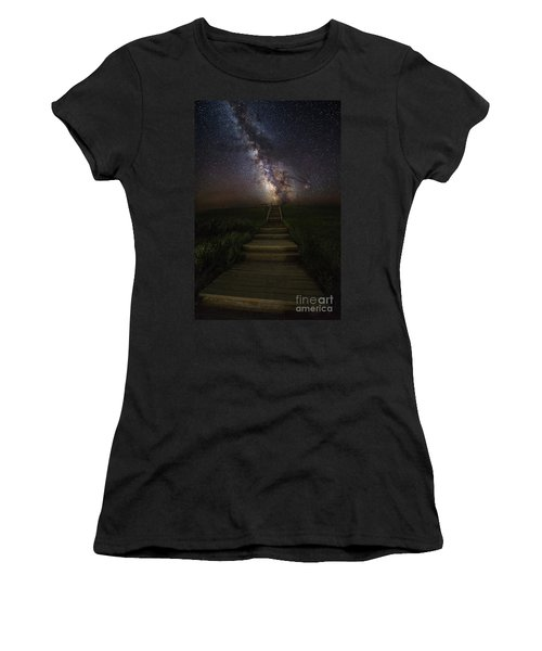 Stairway To The Galaxy Women's T-Shirt