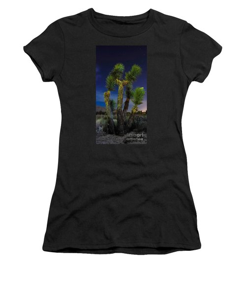 Women's T-Shirt (Junior Cut) featuring the photograph Star Gazing by Angela J Wright
