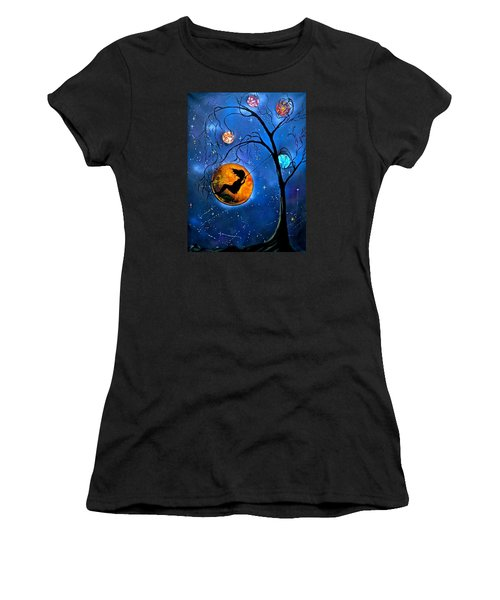 Star Swing Women's T-Shirt (Athletic Fit)